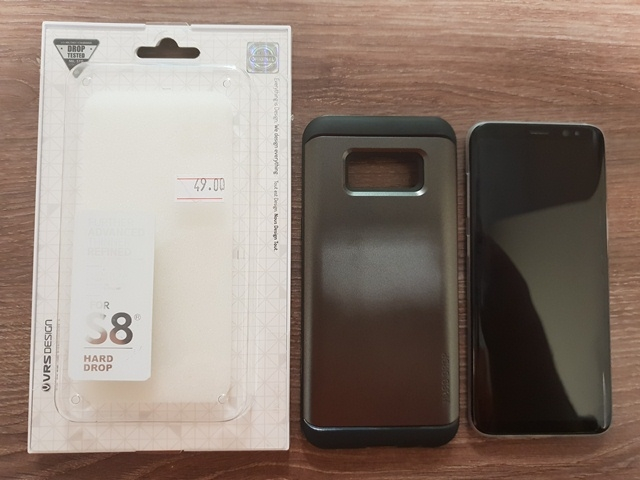 Samsung Galaxy S8 втора употреба. Цена 750 лв. Русе