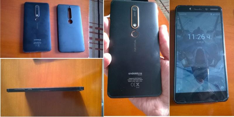 Nokia 6.1 втора употреба. Цена 350 лв. Дупница