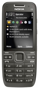 Nokia E52 Navi