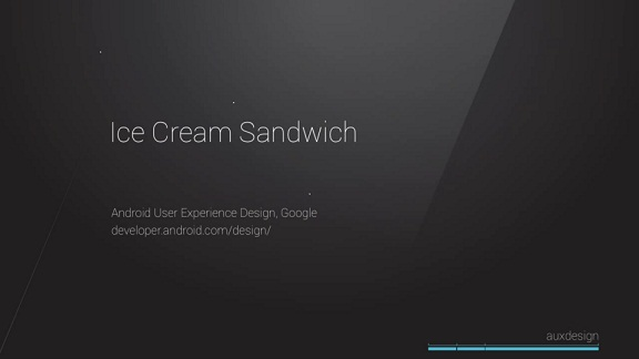 Google Android 4.0 Ice Cream Sandwich-gold