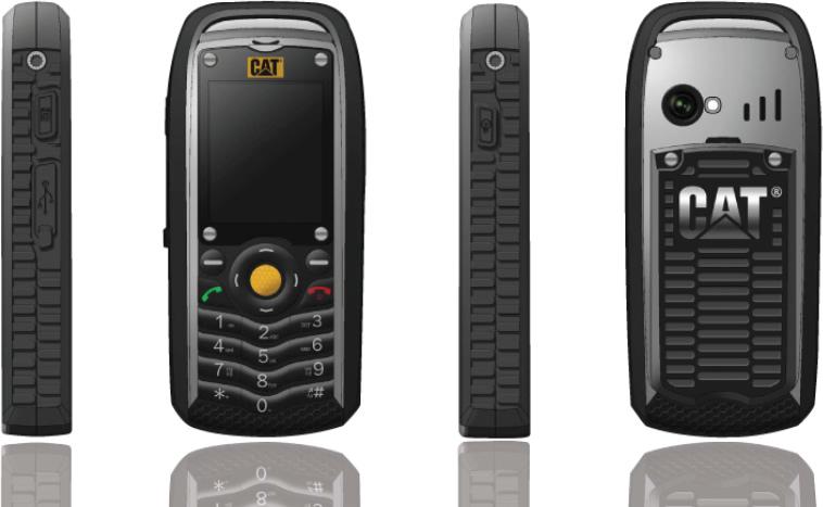 Екстремен телефон CAT B25